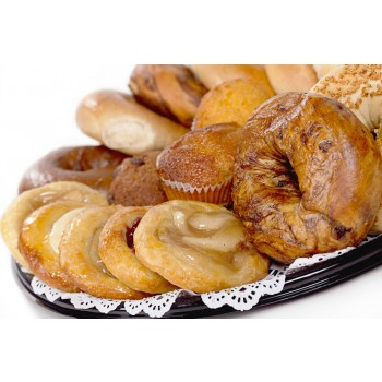 Assorted Pastry and Bagel Platter